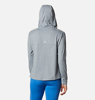 Women's PFG Slack Water™ Knit Hoodie Slack Water™ Knit Hoodie   463   L, Tradewinds Grey Heather, back