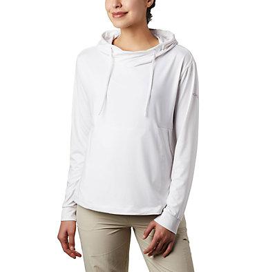 Women's PFG Slack Water™ Knit Hoodie Slack Water™ Knit Hoodie   463   L, White Heather, front