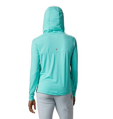 Women's PFG Slack Water™ Knit Hoodie Slack Water™ Knit Hoodie   463   L, Dolphin Heather, back
