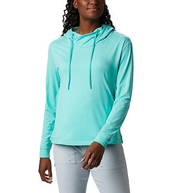 Women's PFG Slack Water™ Knit Hoodie Slack Water™ Knit Hoodie   463   L, Dolphin Heather, front
