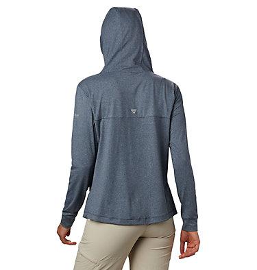Women's PFG Slack Water™ Knit Hoodie Slack Water™ Knit Hoodie   463   L, Collegiate Navy Heather, back