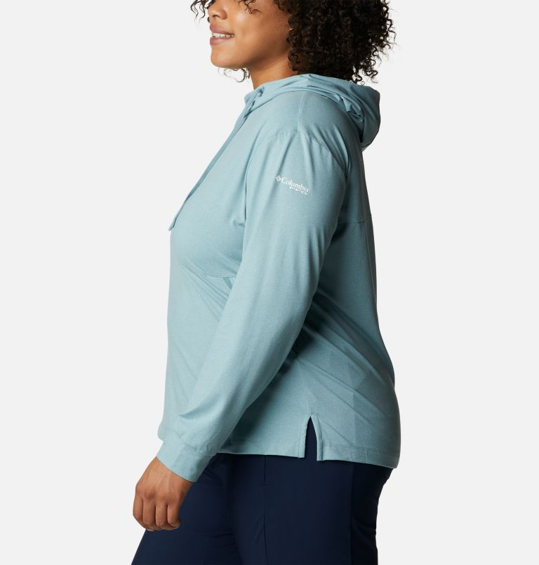 Women's PFG Slack Water™ Knit Hoodie - Plus Size Women's PFG Slack Water™ Knit Hoodie - Plus Size, a1