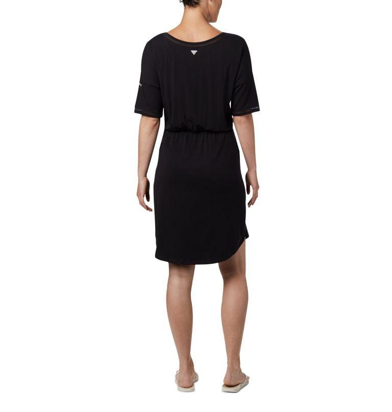 Slack Water™ Knit Dress | 010 | M Women's PFG Slack Water™ Knit Dress, Black, back