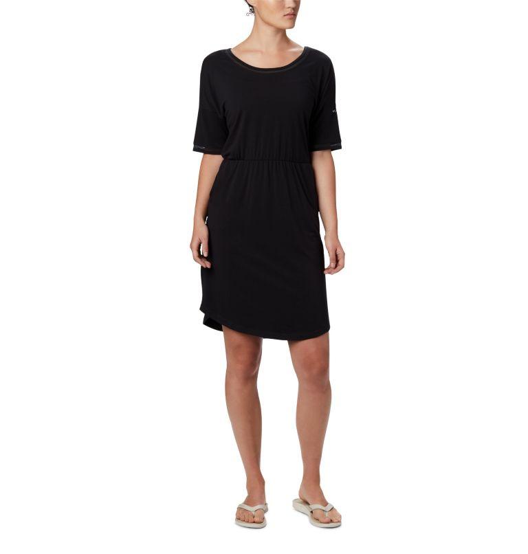 Slack Water™ Knit Dress | 010 | M Women's PFG Slack Water™ Knit Dress, Black, front