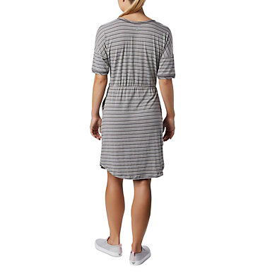 Robe en tricot PFG Slack Water™ pour femme Slack Water™ Knit Dress | 010 | M, City Grey Stripe, back