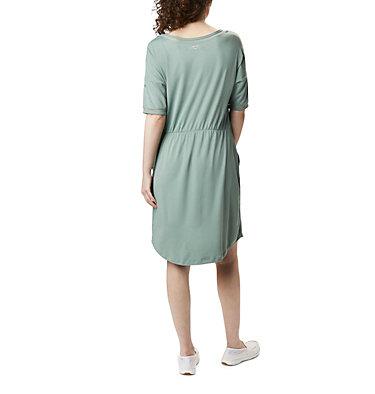 Women's PFG Slack Water™ Knit Dress Slack Water™ Knit Dress | 010 | L, Light Lichen, back