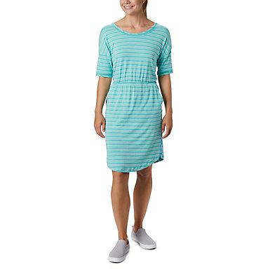 Women's PFG Slack Water™ Knit Dress Slack Water™ Knit Dress | 010 | L, Dolphin Stripe, front
