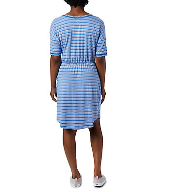 Robe en tricot PFG Slack Water™ pour femme Slack Water™ Knit Dress | 010 | M, Stormy Blue Stripe, back