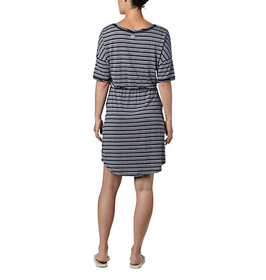 Robe en tricot PFG Slack Water™ pour femme Slack Water™ Knit Dress | 010 | M, Collegiate Navy Stripe, back