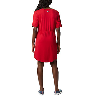 Robe en tricot PFG Slack Water™ pour femme Slack Water™ Knit Dress | 010 | M, Red Lily, back