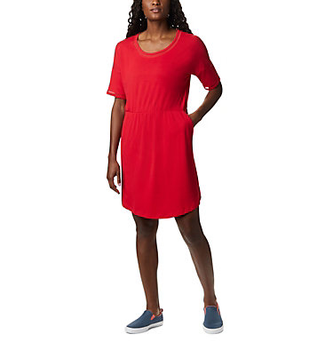 Robe en tricot PFG Slack Water™ pour femme Slack Water™ Knit Dress | 010 | M, Red Lily, front