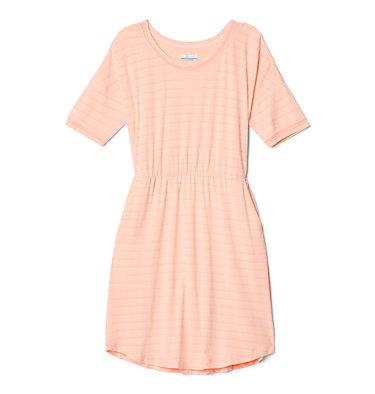 Robe en tricot PFG Slack Water™ pour femme Slack Water™ Knit Dress | 010 | M, Tiki Pink Stripe, front