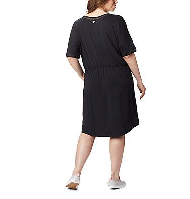 Women's PFG Slack Water™ Knit Dress – Plus Size Slack Water™ Knit Dress | 010 | 1X, Black, back