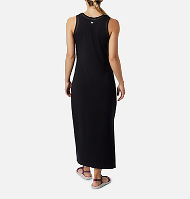 Women's PFG Slack Water™ Knit Maxi Dress Slack Water™ Knit Maxi Dress | 463 | L, Black, back