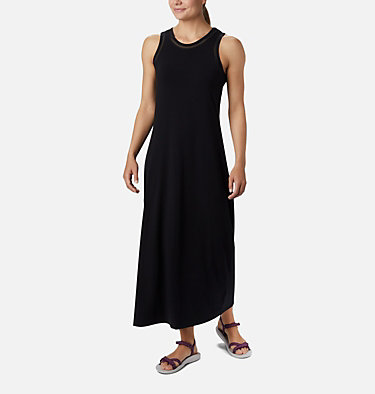 Women's PFG Slack Water™ Knit Maxi Dress Slack Water™ Knit Maxi Dress | 463 | L, Black, front