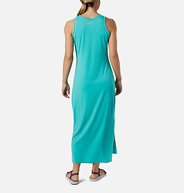 Women's PFG Slack Water™ Knit Maxi Dress Slack Water™ Knit Maxi Dress | 463 | L, Dolphin, back