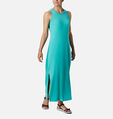 Women's PFG Slack Water™ Knit Maxi Dress Slack Water™ Knit Maxi Dress | 463 | L, Dolphin, front