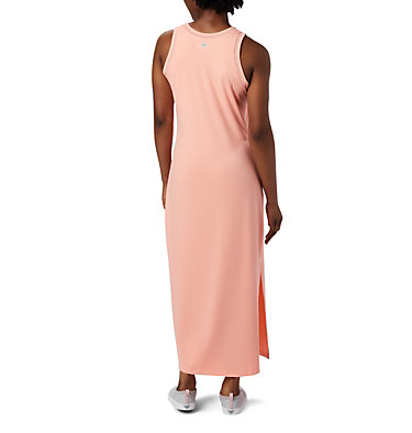 Women's PFG Slack Water™ Knit Maxi Dress Slack Water™ Knit Maxi Dress | 463 | L, Tiki Pink, back