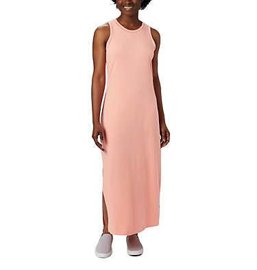 Women's PFG Slack Water™ Knit Maxi Dress Slack Water™ Knit Maxi Dress | 463 | L, Tiki Pink, front