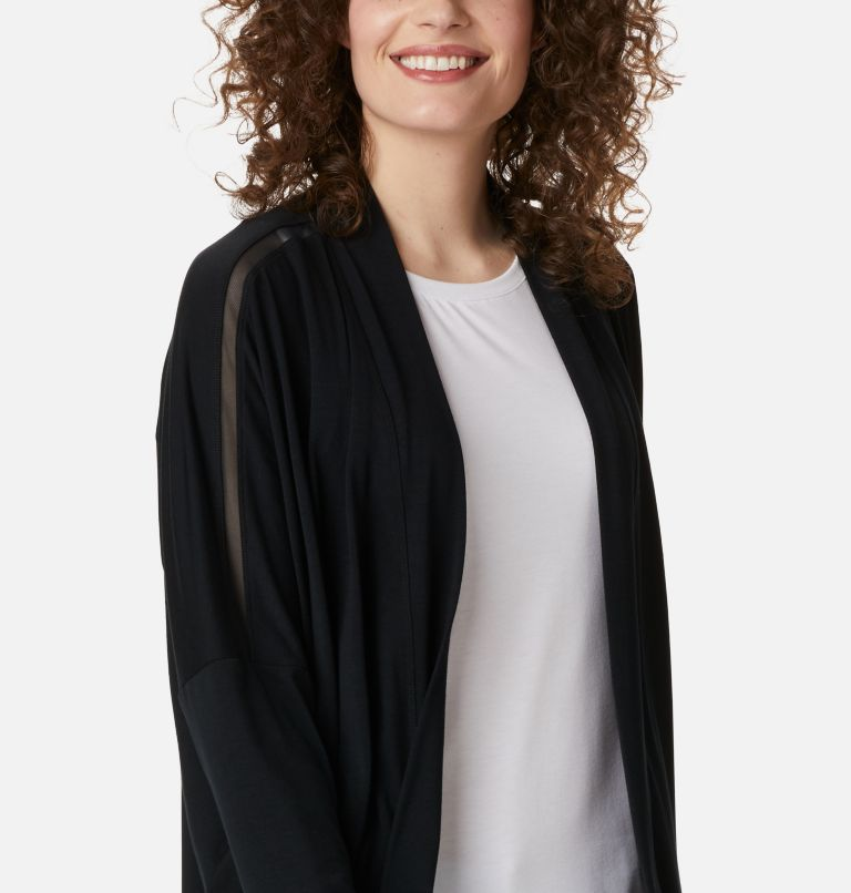 Slack Water™ Knit Cover Up Wrap | 010 | L Women's PFG Slack Water™ Knit Cover Up Wrap, Black, a2