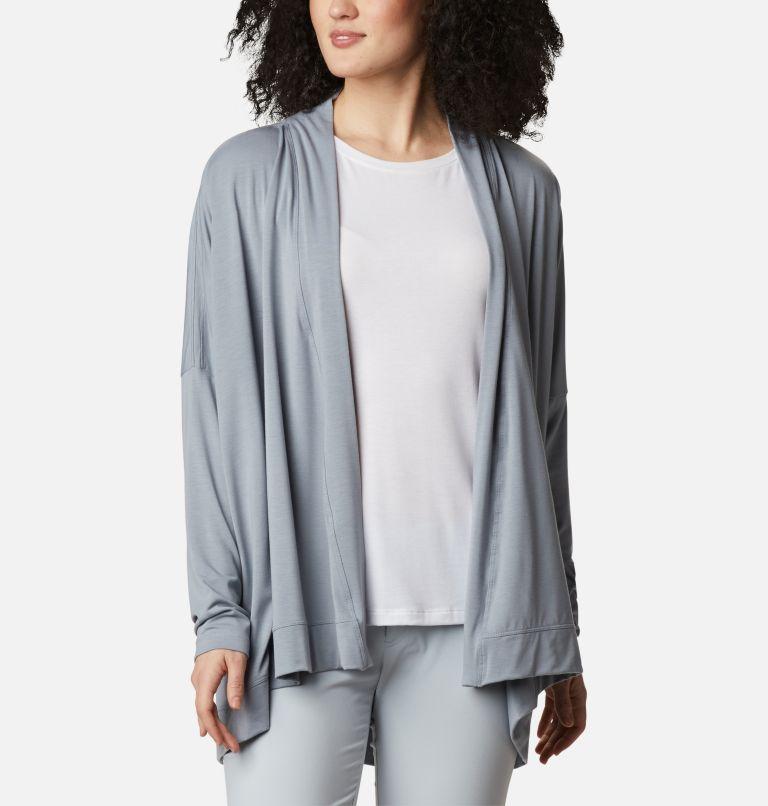 Slack Water™ Knit Cover Up Wrap | 032 | L Women's PFG Slack Water™ Knit Cover Up Wrap, Tradewinds Grey, front