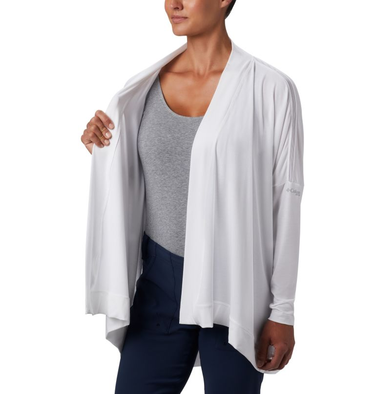Slack Water™ Knit Cover Up Wrap | 100 | S Women's PFG Slack Water™ Knit Cover Up Wrap, White, a3