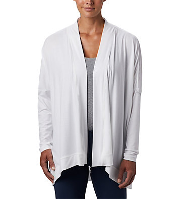 Women's PFG Slack Water™ Knit Cover Up Wrap Slack Water™ Knit Cover Up Wrap | 658 | L, White, front