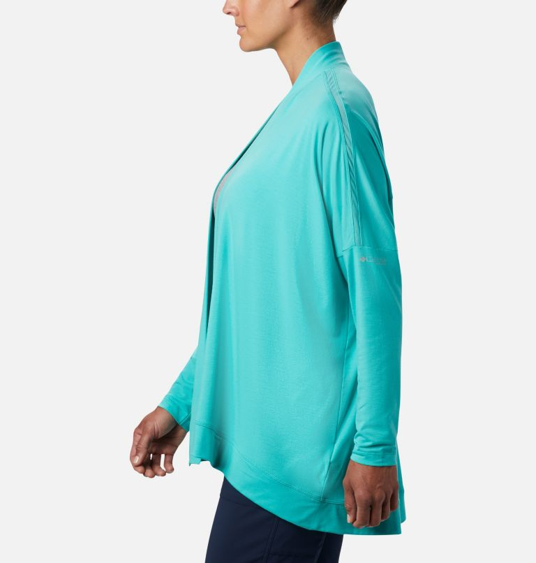 Slack Water™ Knit Cover Up Wrap | 356 | XL Women's PFG Slack Water™ Knit Cover Up Wrap, Dolphin, a1