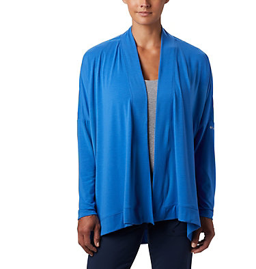 Women's PFG Slack Water™ Knit Cover Up Wrap Slack Water™ Knit Cover Up Wrap | 658 | L, Stormy Blue, front