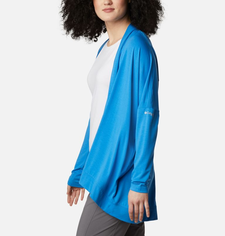 Slack Water™ Knit Cover Up Wrap | 463 | S Women's PFG Slack Water™ Knit Cover Up Wrap, Azure Blue, a1
