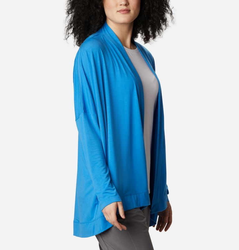 Slack Water™ Knit Cover Up Wrap | 463 | L Women's PFG Slack Water™ Knit Cover Up Wrap, Azure Blue, a3