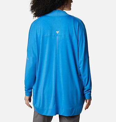 Women's PFG Slack Water™ Knit Cover Up Wrap Slack Water™ Knit Cover Up Wrap   463   L, Azure Blue, back