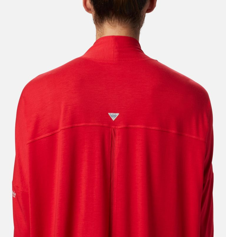 Slack Water™ Knit Cover Up Wrap | 658 | XXL Women's PFG Slack Water™ Knit Cover Up Wrap, Red Lily, a2