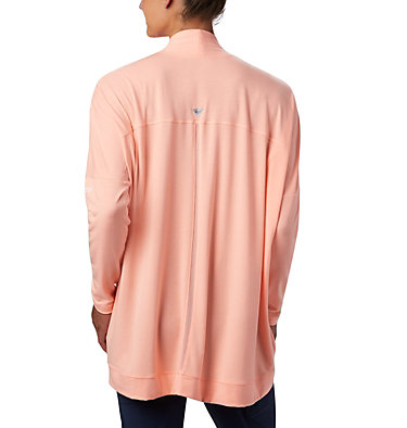 Women's PFG Slack Water™ Knit Cover Up Wrap Slack Water™ Knit Cover Up Wrap | 658 | L, Tiki Pink, back