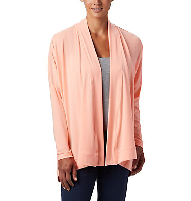 Women's PFG Slack Water™ Knit Cover Up Wrap Slack Water™ Knit Cover Up Wrap | 658 | L, Tiki Pink, front