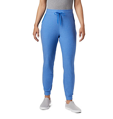 Women's PFG Slack Water™ Knit Joggers Slack Water™ Knit Jogger | 463 | L, Stormy Blue Heather, front