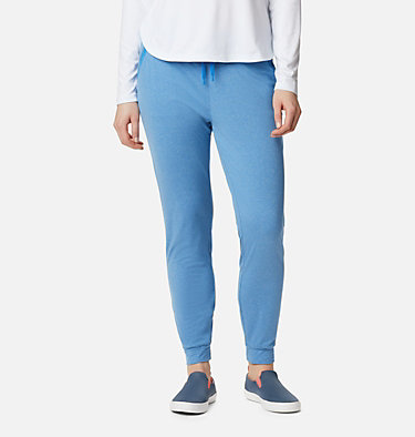 Women's PFG Slack Water™ Knit Joggers Slack Water™ Knit Jogger | 463 | L, Azure Blue Heather, front