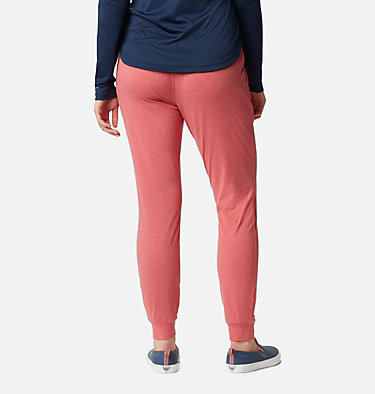 Women's PFG Slack Water™ Knit Joggers Slack Water™ Knit Jogger | 463 | L, Red Lily Heather, back