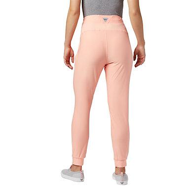 Women's PFG Slack Water™ Knit Joggers Slack Water™ Knit Jogger | 463 | L, Tiki Pink Heather, back