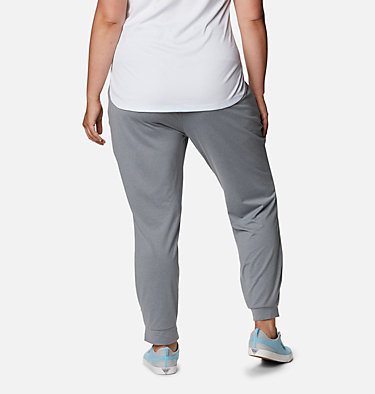 Women's PFG Slack Water™ Knit Joggers - Plus Size Slack Water™ Knit Jogger | 337 | 3X, Tradewinds Grey Heather, back