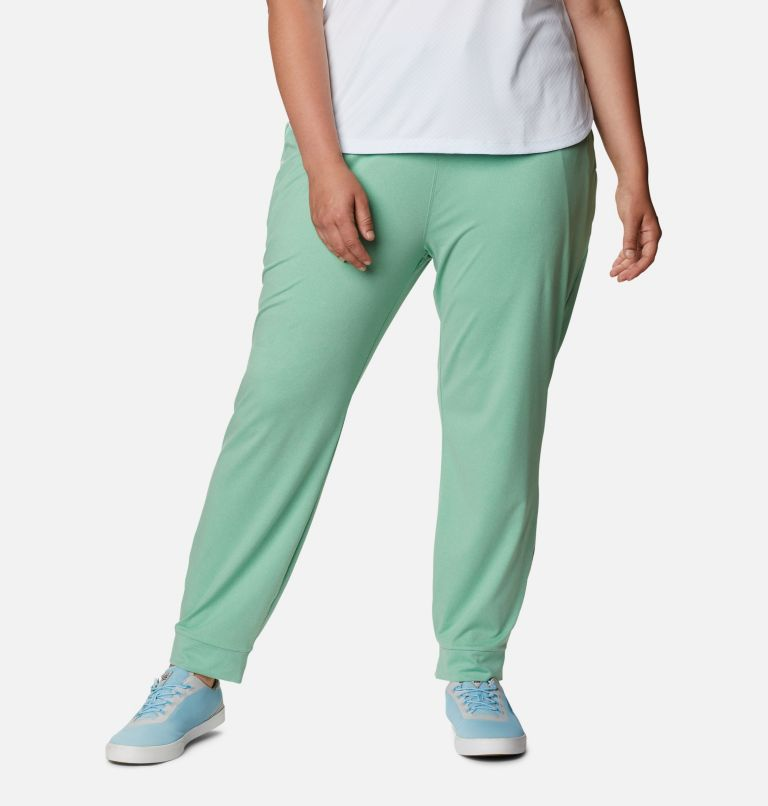 Women's PFG Slack Water™ Knit Joggers - Plus Size Women's PFG Slack Water™ Knit Joggers - Plus Size, front
