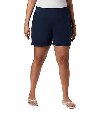 Short tissé PFG Slack Water™ pour femme – Grandes tailles Slack Water™ Woven Short | 031 | 1X, Collegiate Navy, front