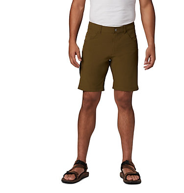 Men's Outdoor Elements™ 5 Pocket Shorts Outdoor Elements™ 5 Pkt Short | 023 | 34, New Olive, front