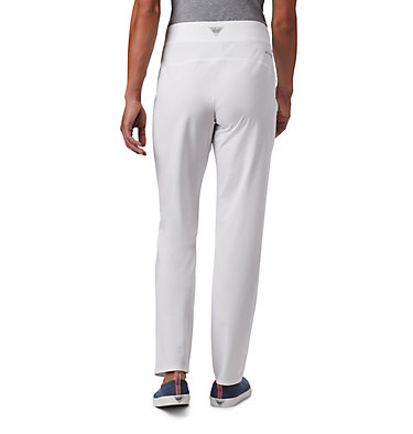 Women's PFG Slack Water™ Woven Pants Slack Water™ Woven Pant | 464 | L, White, back