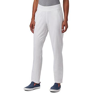 Women's PFG Slack Water™ Woven Pants Slack Water™ Woven Pant | 464 | L, White, front