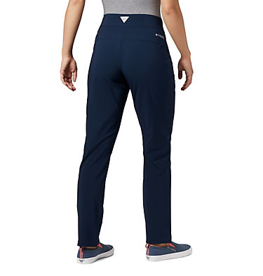 Women's PFG Slack Water™ Woven Pants Slack Water™ Woven Pant | 464 | L, Collegiate Navy, back