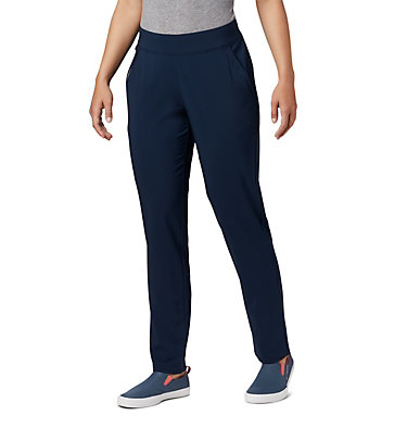 Women's PFG Slack Water™ Woven Pants Slack Water™ Woven Pant | 464 | L, Collegiate Navy, front