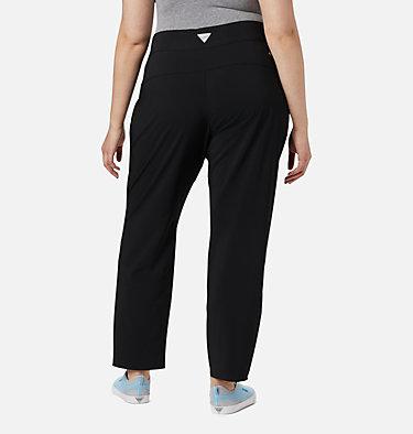 Women's PFG Slack Water™ Woven Pants - Plus Size Slack Water™ Woven Pant | 031 | 1X, Black, back