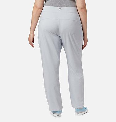 Women's PFG Slack Water™ Woven Pants - Plus Size Slack Water™ Woven Pant | 031 | 1X, Cirrus Grey, back