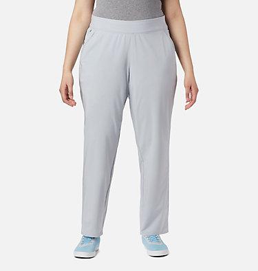 Women's PFG Slack Water™ Woven Pants - Plus Size Slack Water™ Woven Pant | 031 | 1X, Cirrus Grey, front
